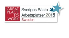 ​Great Place to Work Institute presenterar Sveriges Bästa Arbetsplatser 2015