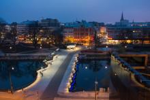 Smart belysningsstyrning förenklar i Malmö