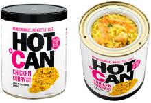 Hot Can - Turmat som varmer seg selv!