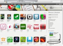 Livskonstnär topp 4 av antal sålda appar inom vår kategori