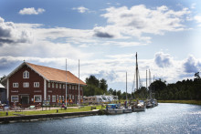 Årets ställplats finns i Borensberg vid Göta kanal