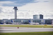 Mer än två miljoner resenärer på Arlanda i maj