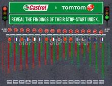 Bilförarna i Istanbul, Mexico City och Moskva toppar STOP-START-indexet med flest stopp och starter i världen