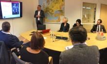 Besök av minister Helene Hellmark Knutsson i Teknikdalen