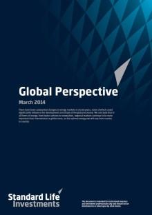 Global Perspective från Standard Life Investments om den globala energimarknadens förändring