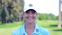 Final för Linnea Ström i POLO Junior Golf Classic