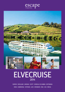 Escape Travel lanserer ny elvecruisekatalog