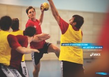 ASICS lykønsker håndboldspiller Hans Lindberg