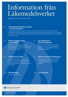 Information från Läkemedelsverket #1 2011