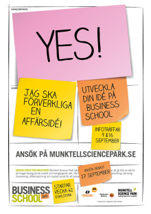 Business School - sista ansökan 27/9