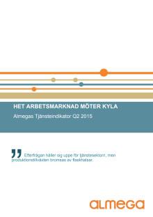 Almegas tjänsteindikator Q2 2015