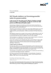 120315 PRM - NCC Roads - NCC Recycling