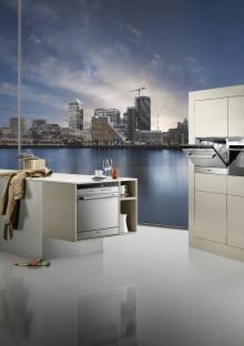 Siemens presenterar ny kategori diskmaskiner - stilrena, flexibla och tysta