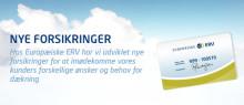 Nye forsikringer hos Europæiske ERV