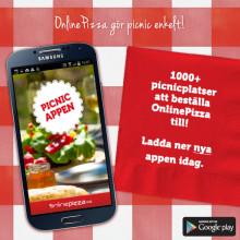 Ny picnic-app lanseras i Göteborg