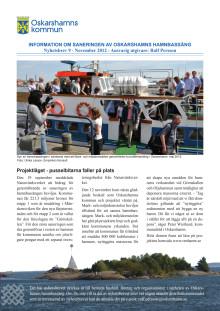 Nyhetsbrev 9 - sanering av Oskarshamns hamnbassäng