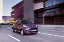 Ny Peugeot 107: Et ekstra pift til byen