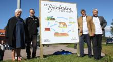 Biogasanläggningen invigdes på Hjordnära Mejeri