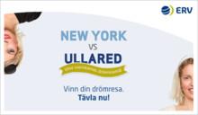 ERV hittar nya vägar att sälja försäkringar genom kampanjen New York vs Ullared