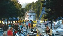 Uppåt för turismen på Göta kanal