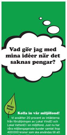Miljöfond affisch