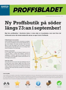 Proffsbladet 2:2012 distribueras nu