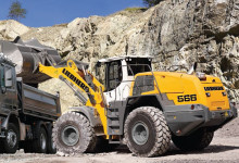 Liebherr Wheel Loaders at MaskinExpo 2014
