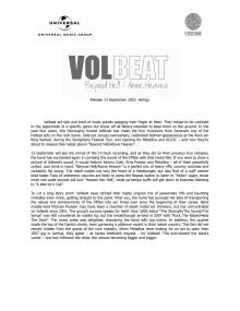 Volbeat biografi