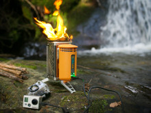 Med BioLite CampStove blir friluftslivet mer behagelig