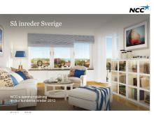Så inreder Sverige - NCC:s sammanställning av hur kunderna inreder 2013