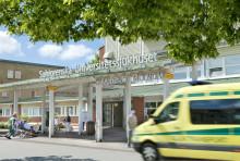 Delar av akutmottagningen på Mölndals sjukhus sommarstängs