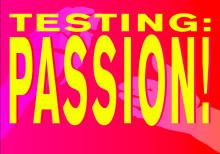 Inbjudan till pressvisning av Testing:Passion den 13/2 i Stockholms Konserthus