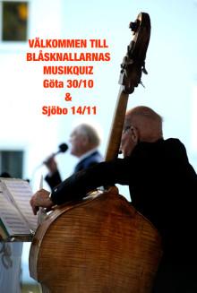 Blåsknallarna & Musikquiz