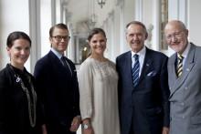 Kronprinsessparet antar beskyddarskap för WaterAid Sverige