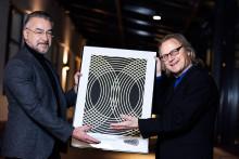 Stefan Nilsson tilldelas stipendium ur Fred Winters minnesfond 2015
