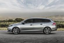 Danmarkspremiere på den internationale prisvinder Peugeot 308 SW