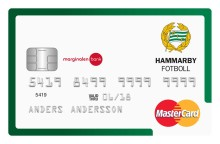 Hammarbysupportrar får eget betal- och kreditkort