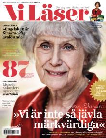 """Vi Läser nr 4 2015: """"Därför vurmar Lisbeth Salander för svarta hål"""""""