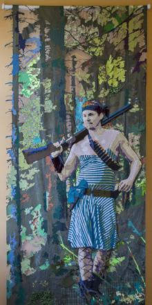 Fra collage med menn i kvinneklær til minimalistiske møbler - Stort prisdryss på Kunstindustrimuseet -