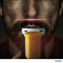 Laserpresisjon med Philips BeardTrimmer 9000