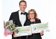 Tolv miljoner kronor från PostkodLotteriet