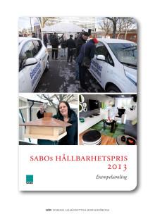 Exempelsamling, SABOs Hållbarhetspris 2013