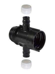 Modulär PPM fördelare - mångsidig fördelare för tappvatten och radiatorvärme