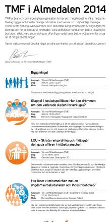 TMF i Almedalen 2014 - pressinbjudan
