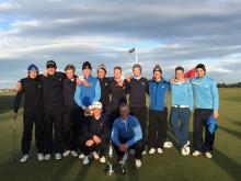 Svenska golfsegrar i England