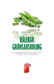 Hållbar Grönsaksodling - att balansera avkastning och kvalitet med miljö- och klimathänsyn