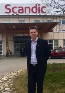 Ronny Jonsson ny hotelldirektör på Scandic Bollnäs