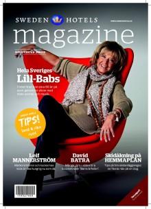 Nytt nummer av Sweden Hotels Magazine!