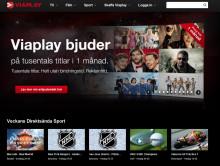 Bättre upplevelse med ny hemsida - det firar Viaplay med att bjuda på en månad med TV och Film