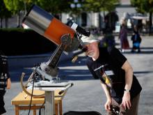 Fysik i Kungsträdgården på temat Ljusets år
